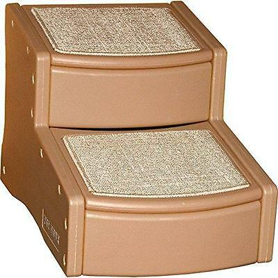 Pet Gear Easy Step II Pet Stairs, 2-step/for Cats and Dogs up to 75-pounds, New