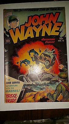 John Wayne N.15 1952 Very Fine Conditions Toby Press
