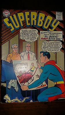 Superboy #108 1962  Fine+ 6.5  Conditions Dc Comics