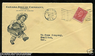 p260 - TORONTO 1933 Canada Bread Co ILLUSTRATED Advertising Cover