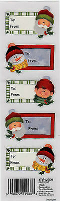Royal & Langnickel  Rub-ons ~ PRESENT TAGS ~ Scrapbooking/Cardmaking/Papercrafts