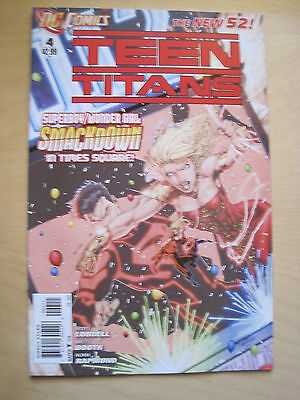 TEEN TITANS  4.   1st   PRINTING.    THE NEW 52 !     DC.  2012