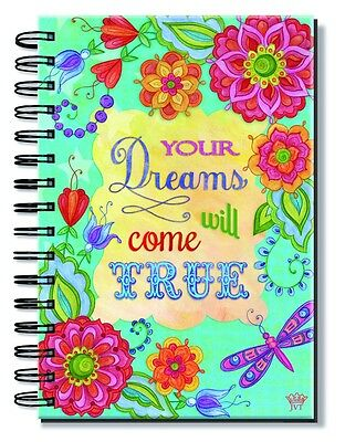 "Dreams Come True (5.7"" x 8.3"") Spiral Bound Inspirational Journal 120907"
