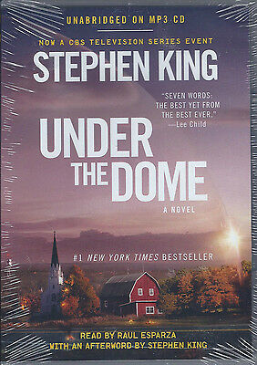 Under the Dome by Stephen King Audio 3 MP3 CDs UNAbridged