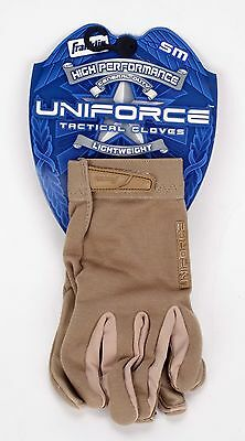 Franklin Uniforce High Performance General Duty Lt Weight Tactical Gloves Tan SM