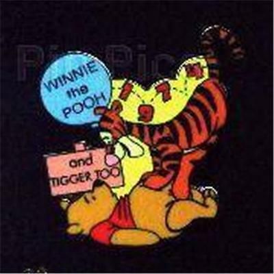 WINNIE The POOH & TIGGER TOO! 100 YEARS OF DREAMS #29 2001 LE DISNEY PIN