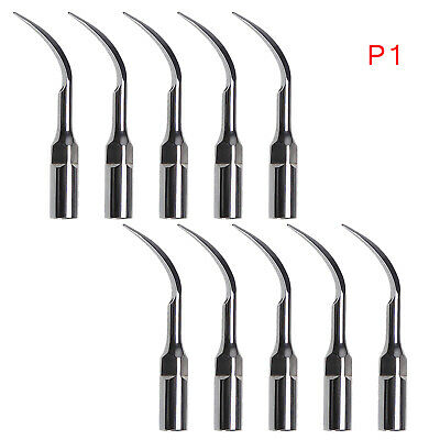 10 Dental Supragingival Scaling Tips GS1 fit SIRONA Ultrasonic Piezo Scaler UK