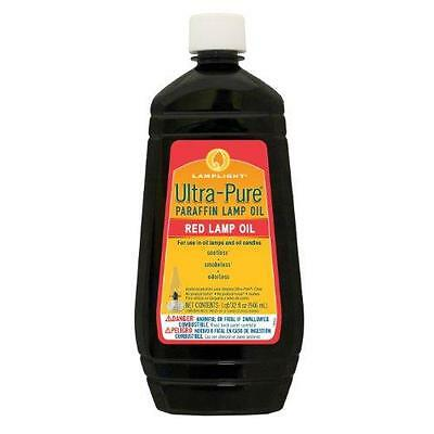 Lamplight 60012 32-Ounce Ultra-pure Lamp Oil, Red New