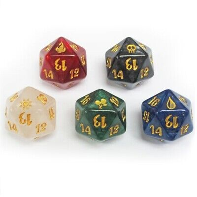 20-Sided Life Counter Dice Set
