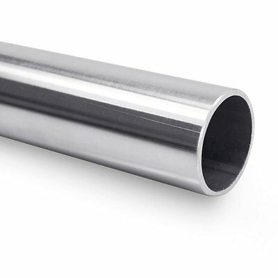 Stainless steel metal handrail round tube 3 mtr 240 Grit satin polish stair rail