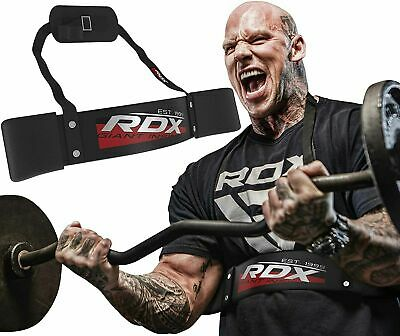 RDX Bicep Isolator Blaster Barbell Bar Weight Lifting Arm Training Bomber Curl Y