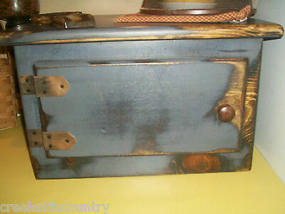 Primitive Rustic Wood EXTRA-EXTRA LARGE Toaster Cover Appliance Cover - Deeper T