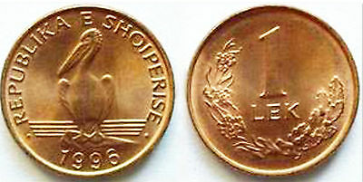 Albania 1996 1 Lek Uncirculated (KM75)