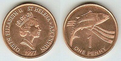 St. Helena & Ascension 1997 1 Penny Uncirculated (KM13a)