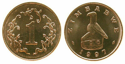 Zimbabwe 1997 1 Cent Uncirculated (KM1)