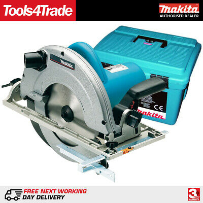 """Makita 5903RK 9""""/235mm Circular Saw 1550W with Hex Wrench & Case 110V"""