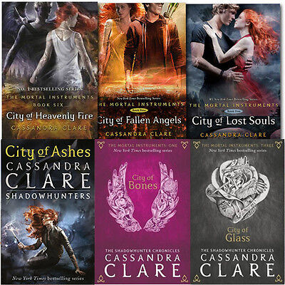 Cassandra Clare Collection Young Adults 6 Books Set Paperback English