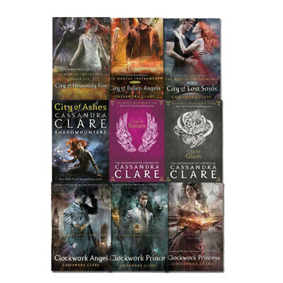 Cassandra Clare Collection Mortal Instruments & Infernal Devices 9 Books Set