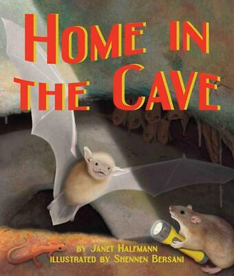 Home in the Cave by Janet Halfmann Hardcover Book (English)