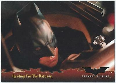 Batman Begins - Card 66 - Heading For The Batcave