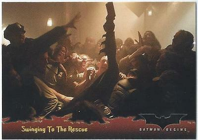 Batman Begins - Card 83 - Swinging To The Rescue