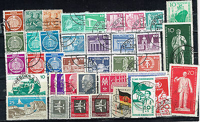 Germany DDR Cold War Propaganda old stamps lot 1960s