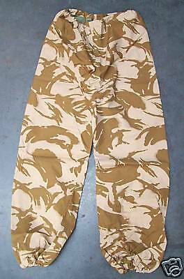 "NEW - Desert Camo Goretex Waterproof Trousers 90/92/108 - 36"" Waist, Long leg."