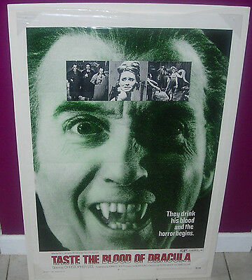 Hammer  Taste The Blood Of Dracula  1970  Original Movie Poster  One-Sheet