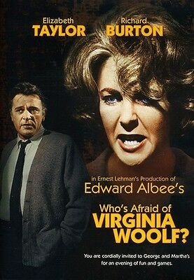 Who's Afraid of Virginia Woolf? (2010, DVD New)
