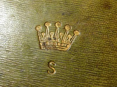 Antique 18-19thC EARL SPENCER LADY DIANA Relation Royalty Peerage  DOCUMENT BOX