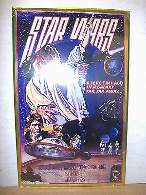 Star Wars (A New Hope)  movie poster metal sign (USA, 1995)