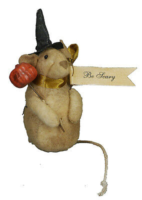 Primitives by Kathy Halloween Be Scary Halloween Mouse - 17228