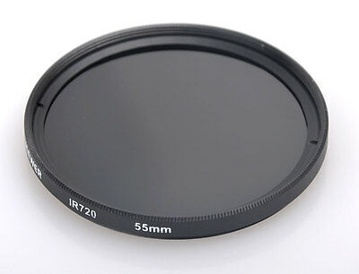 55mm 55 mm IR 720 nm 720nm Infrared Infra-Red Filter