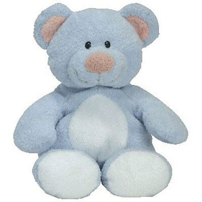 Baby TY - BABY BLUE the Bear (10 inch) - MWMT's BabyTy Plush