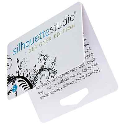 Silhouette Studio DESIGNER EDITION Software LICENSE KEY CODE CARD