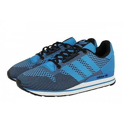b8a3a7075 ADIDAS ORIGINALS ZX 500 OG WEAVE Trainer Sneakers MENS 10.5 RUNNING BLUE  BLACK