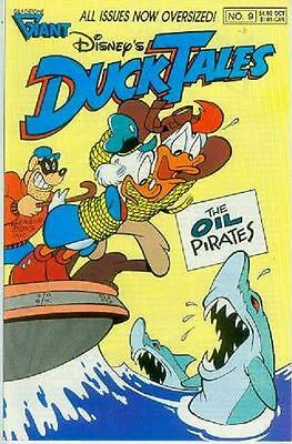 Duck Tales # 9 (Barks, 52 pages) (USA, 1989)