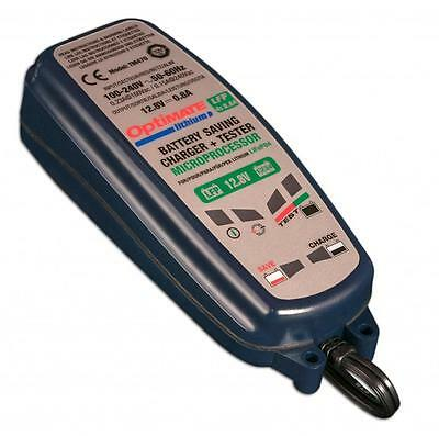 Optimate 0.8A Lithium 8 Step Motorcycle Battery Charger, Tester & Maintainer