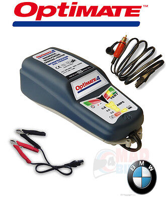 Optimate 4 CANbus BMW Edition Battery Charger/Tester/Maintainer With DIN Lead