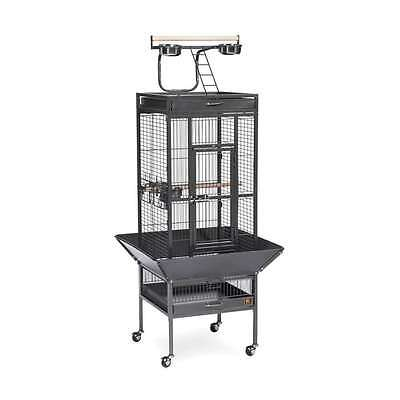 Prevue Hendryx Wrought Iron Select Cage Black Hammertone - 3151BLK