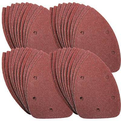 40 Mouse Sanding Sheets to Fit Black and Decker Detail Palm Sander All Grades