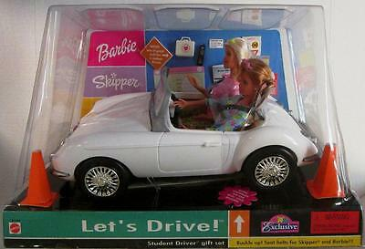 Let's Drive! Student Driver Barbie and Skipper Doll Gift Set (Toys R' Us Exclu..