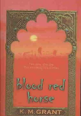 Blood Red Horse by K.M. Grant (English) Prebound Book Free Shipping!