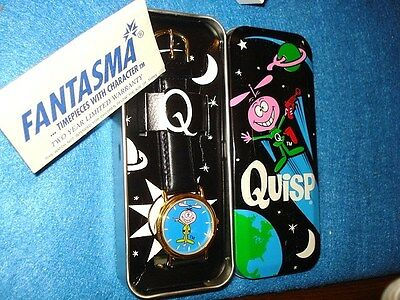 Quisp Character Watch, MIB With Outer Sleeve And Mailer, Running