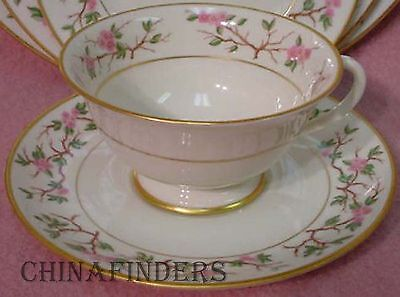 FRANCISCAN china WOODSIDE pattern CUP & SAUCER SET