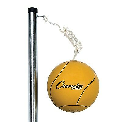 "Champion Sports Deluxe Tether Ball Set DTBSET Tether Ball 43"" x 7.5"" x 3.3 NEW"