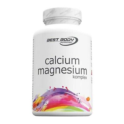 14,22€/100g Best Body Nutrition Calcium Magnesium 100 Kapseln