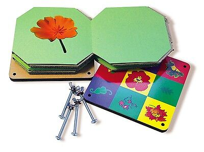 Wooden Flower Press Kit 4 Kids Scrapbooking Card Making
