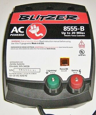 New Old Stock 1973 Blitzer Electric Fence Controller