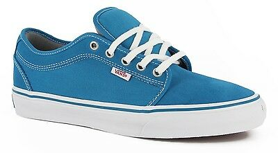 e6ebc2205703 New Vans Chukka Low Lagoon Blue Sz Size Womens 8.5 25 Cm Shoes Mens 7 Nib